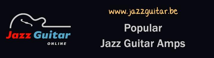 Popular jazz guitars