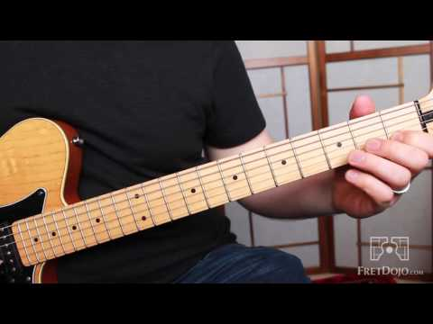 C Major Scale: Fret Position Shifting on 2nd String