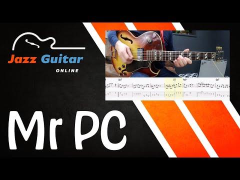 Mr. PC (John Coltrane) Jazz Guitar Lesson - Melody & Solo
