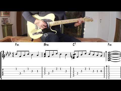 Bang Bang My Baby Shot Me Down (Nancy Sinatra) - Guitar Lesson