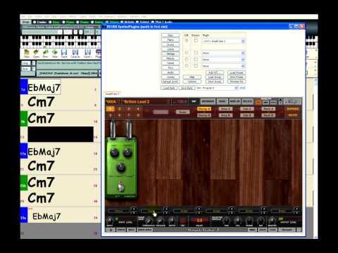 Band-in-a-Box: Direct Input & AmpliTube