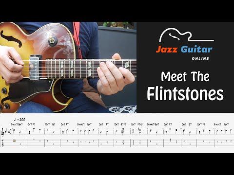 (Meet) The Flintstones Theme for Jazz Guitar