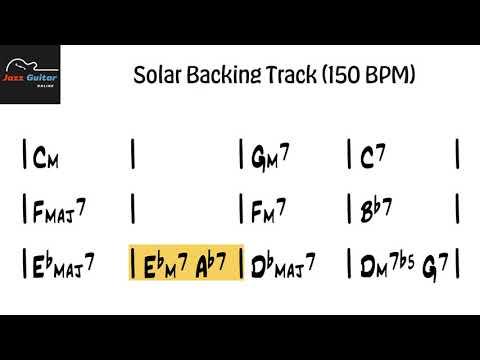 Solar Backing Track (150 BPM)