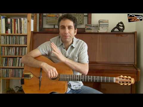 """Gypsy Jazz Guitar Chords: How To Play """"La Pompe"""""""