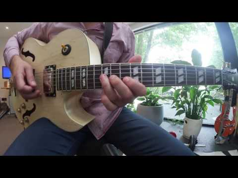 Summertime Jazz Guitar Lesson - Melody & Solo