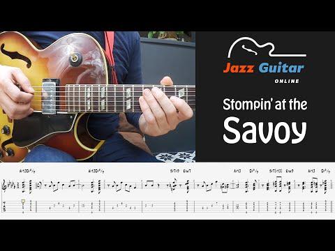 Stompin' at the Savoy - Jazz Guitar Lesson