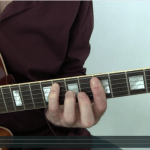 Chord melody jazz guitar