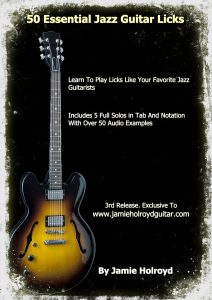 jazz guitar licks book