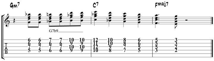 Wes Montgomery Chord Licks 3