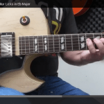 Major jazz guitar licks video