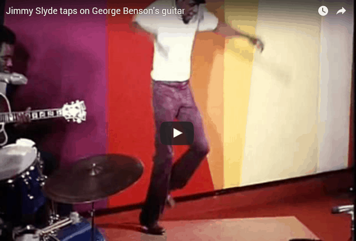 George Benson and tap dancer Jimmy Slyde video + tabs