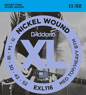D'addario EXL116 jazz guitar strings