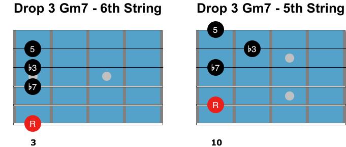 Drop-3-Gm7-chords 3