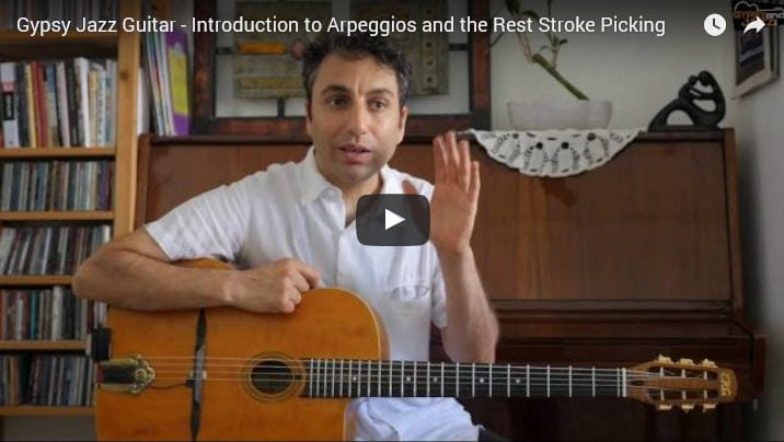 Gypsy Jazz Guitar Arpeggios