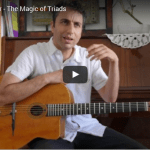 Gypsy jazz guitar triads