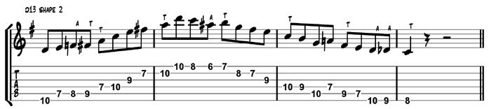 D13 Target Tones