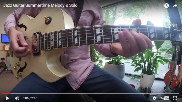 Summertime Melody and Solo Lesson