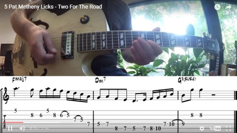 Pat Metheny - Two for the Road Licks