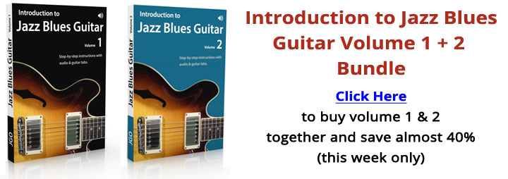 Introduction to Jazz Blues Guitar Bundle