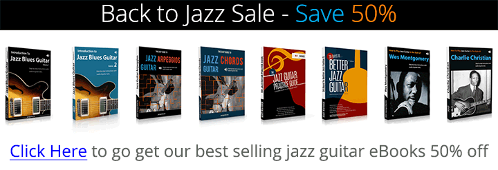Jazz guitar eBook sale