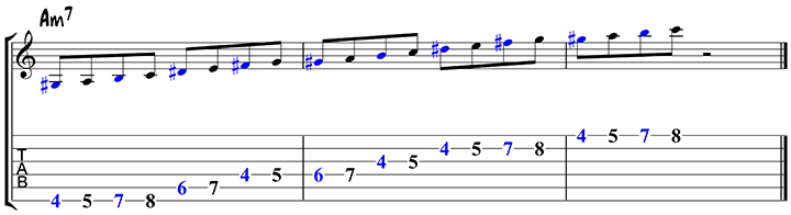 Arpeggio approach notes 1