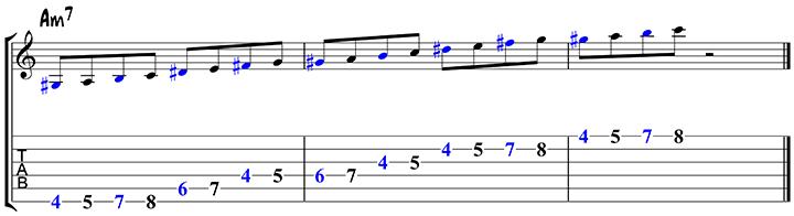 Arpeggio approach notes 1