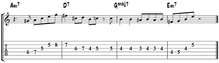 Arpeggio approach notes 3