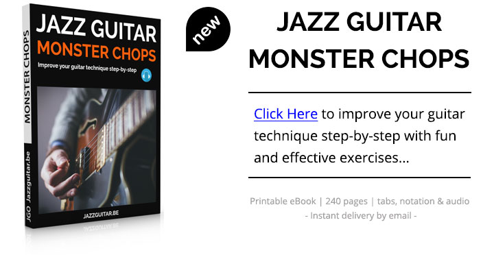 Jazz Guitar Monster Chops