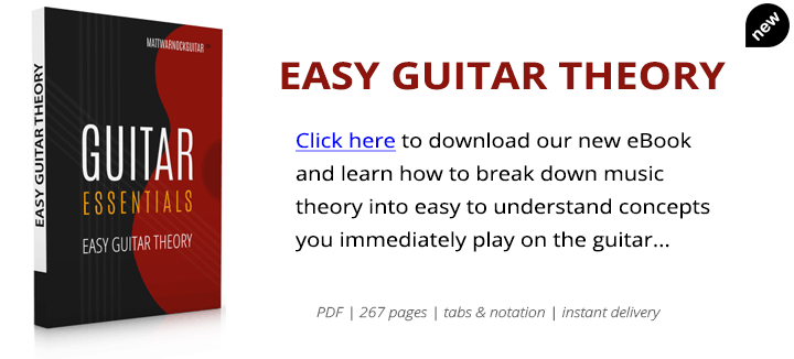 Easy guitar theory