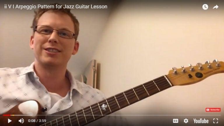 II V I jazz guitar licks