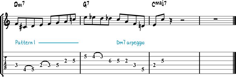 Jazz guitar lick 10