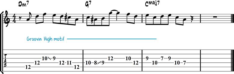 Jazz guitar lick 15