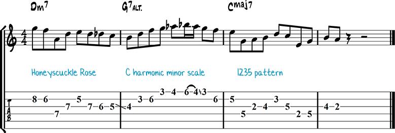 Jazz guitar lick 18