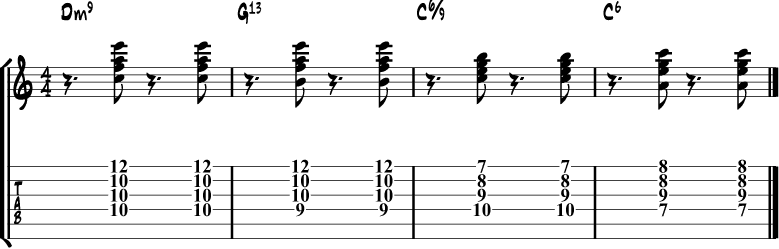 The 10 Most Popular Jazz Chord Progressions Guitar Examples