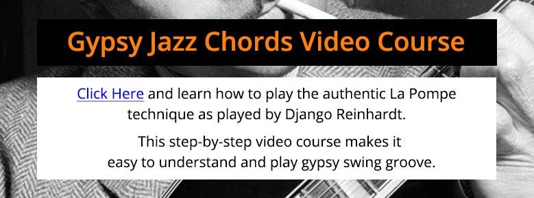 Gypsy Jazz Chords Video Chords