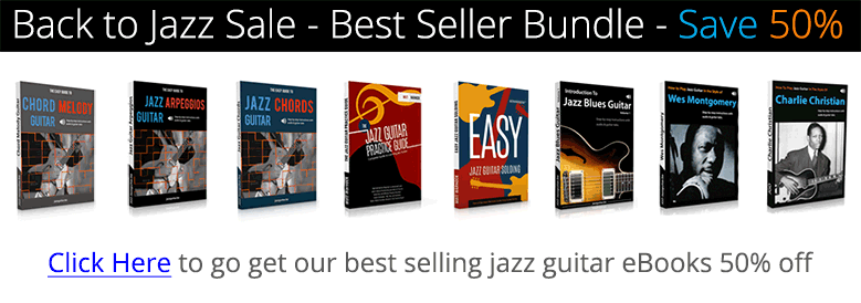 Jazz guitar eBook bundle