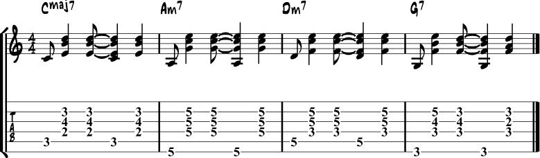 Bossa nova rhythm 3