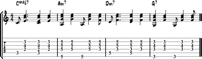 Partido alto guitar