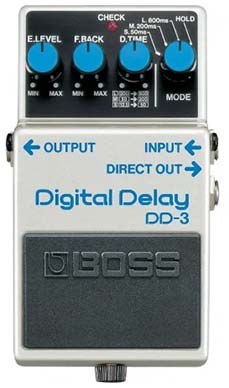 Boss DD-3 Delay pedal