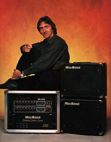 Allan Holdsworth and his Mesa Boogie amp