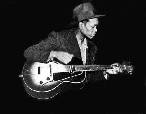 Charlie Christian playing his Gibson ES-150