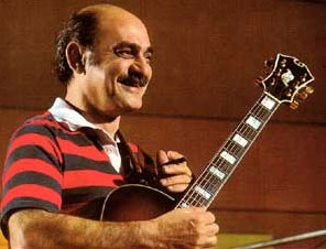 Joe Pass D'Aquisto guitar