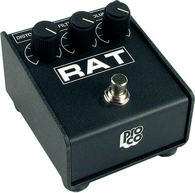 Proco RAT distortion pedal