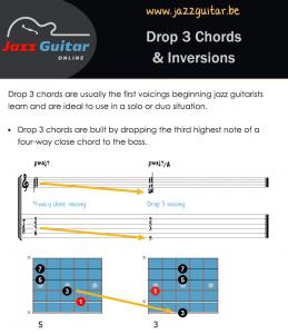 Drop 3 Chords