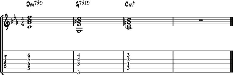 Jazz guitar ending 15