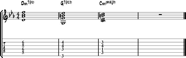 Jazz guitar ending 16