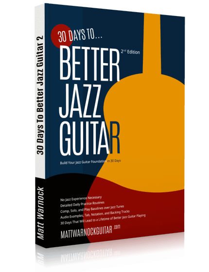 30 Days to Better Jazz Guitar