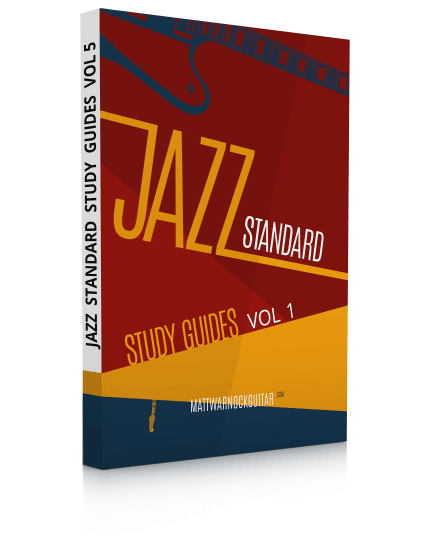 Jazz Standard Study Guides Volume 1