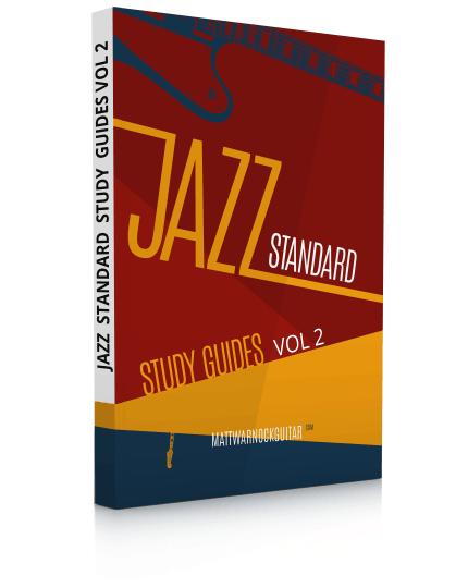 Jazz Standard Study Guides Volume 2