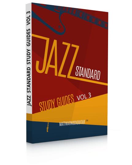 Jazz Standard Study Guides Volume 3